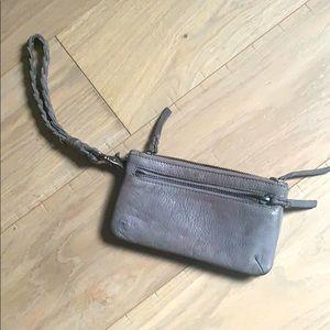 💙 cut n' paste wallet clutch 💙